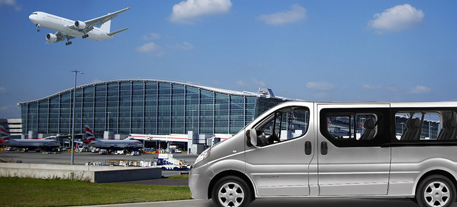 Leeds Bradford airport transfers and minibus taxi hire banner 0
