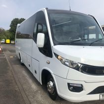 coach hire birmingham with driver by actua transport
