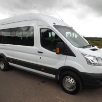 minibus hire birmingham with driver by actua transport